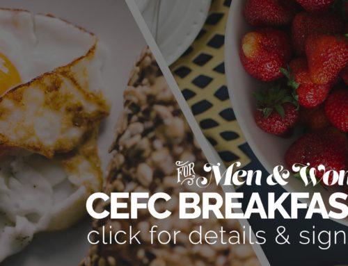 CEFC Breakfasts (Multiple Graphics)