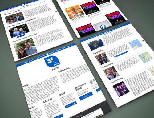 conoverefc.com – Church Website Refresh/Update