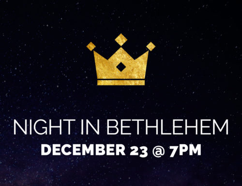 Night in Bethlehem 2016 Graphic